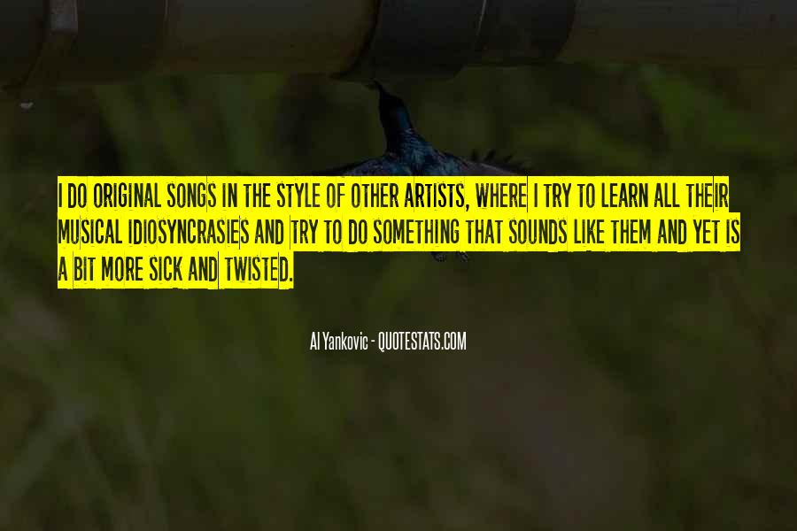 Musical Artist Quotes #947747
