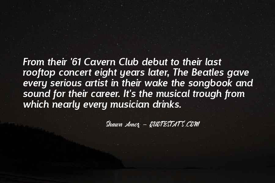 Musical Artist Quotes #989902
