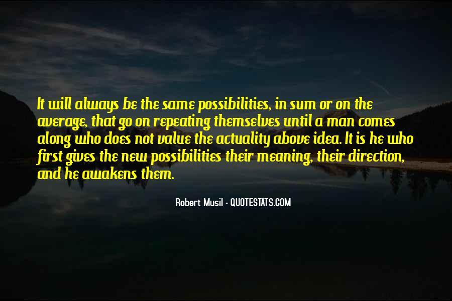 Musil Robert Quotes #101972