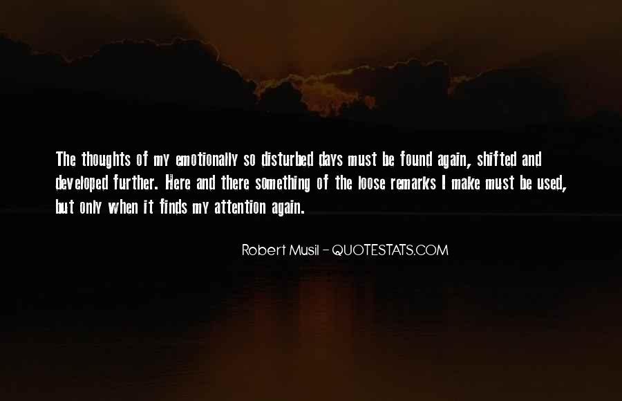 Musil Robert Quotes #1110263