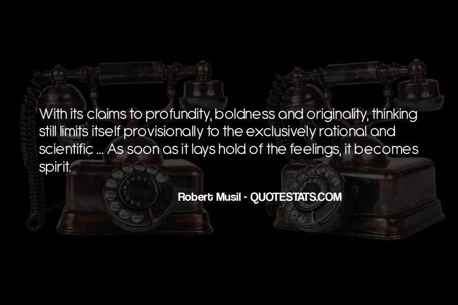 Musil Robert Quotes #1831287