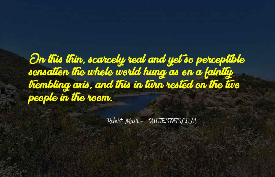 Musil Robert Quotes #239694