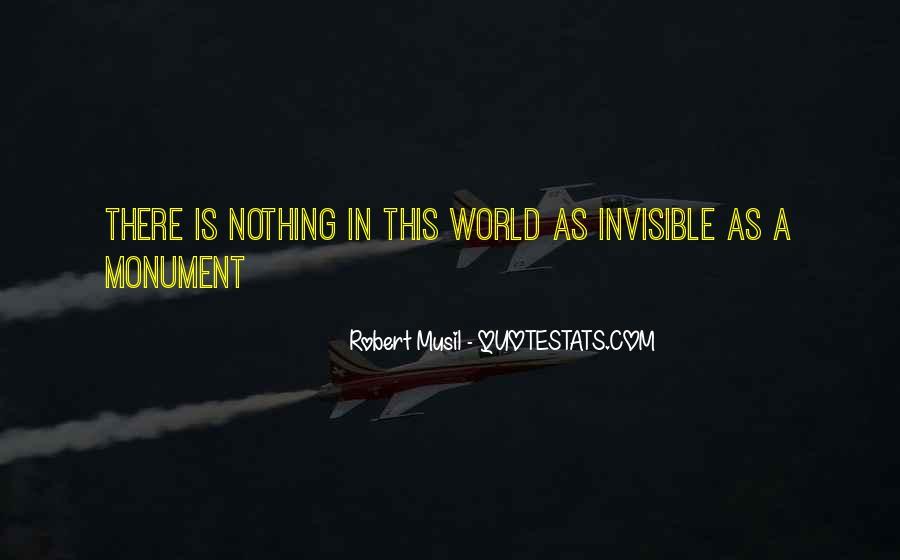 Musil Robert Quotes #511262