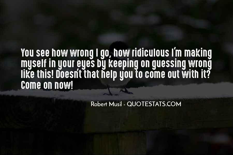 Musil Robert Quotes #603431