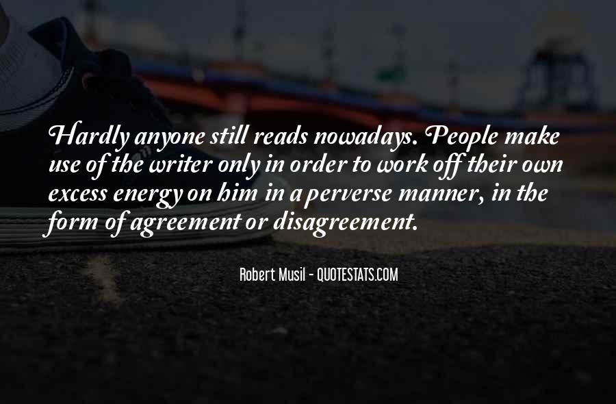 Musil Robert Quotes #999909