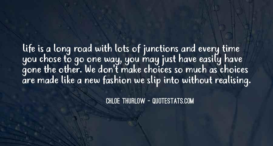 Quotes About Chose #16548