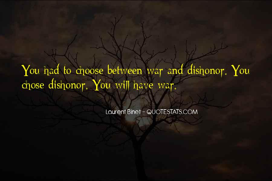 Quotes About Chose #45117