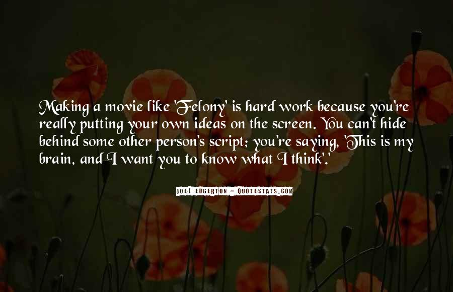 Must Know Movie Quotes #13253