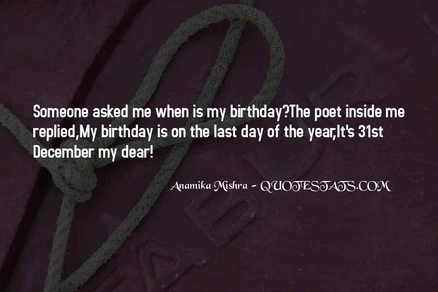 My 31st Birthday Quotes #952524