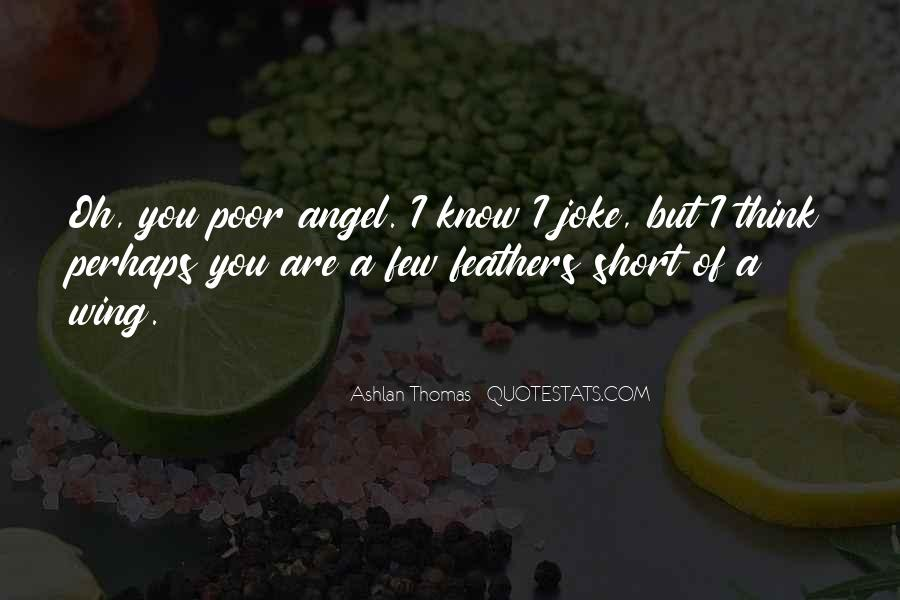 My Angel Short Quotes #280540