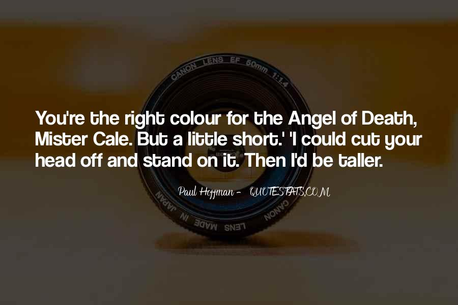 My Angel Short Quotes #6984