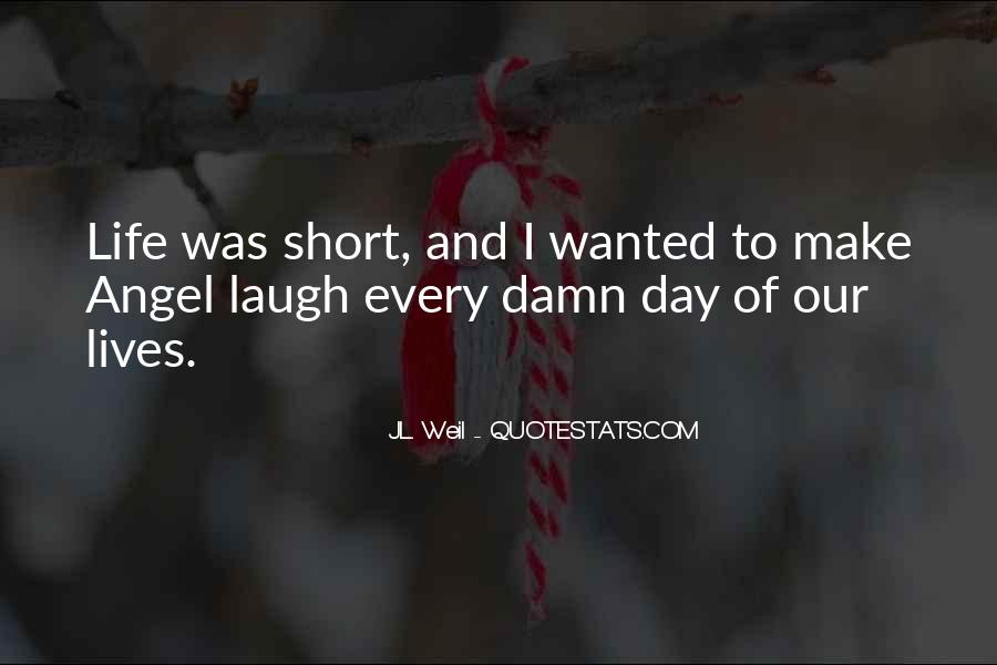 My Angel Short Quotes #927542