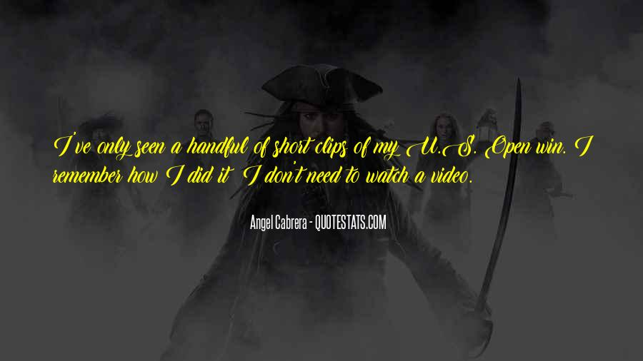 My Angel Short Quotes #987021