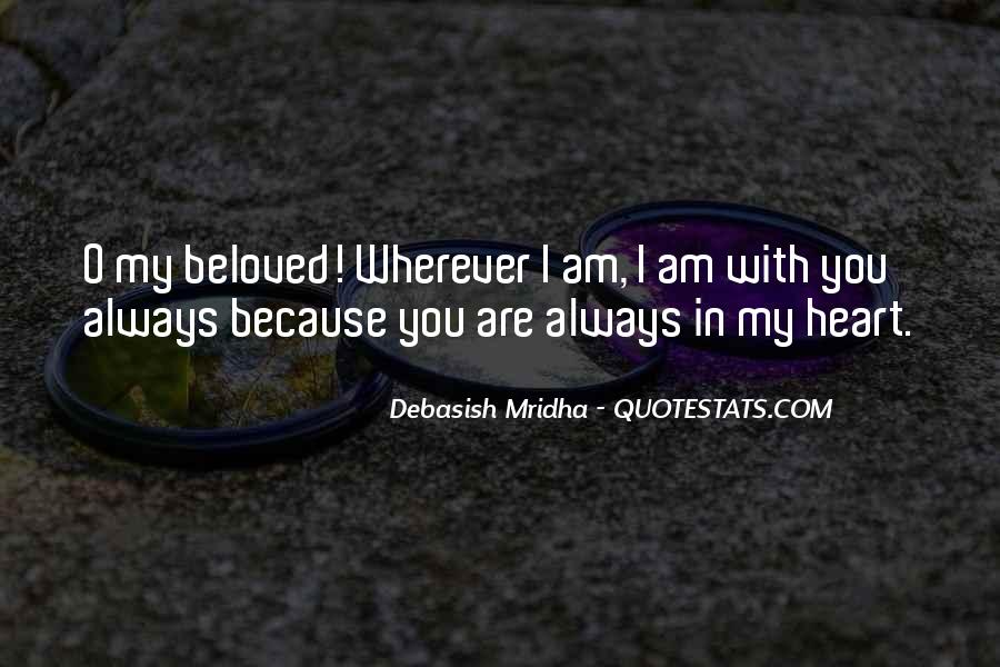 My Beloved Love Quotes #245234