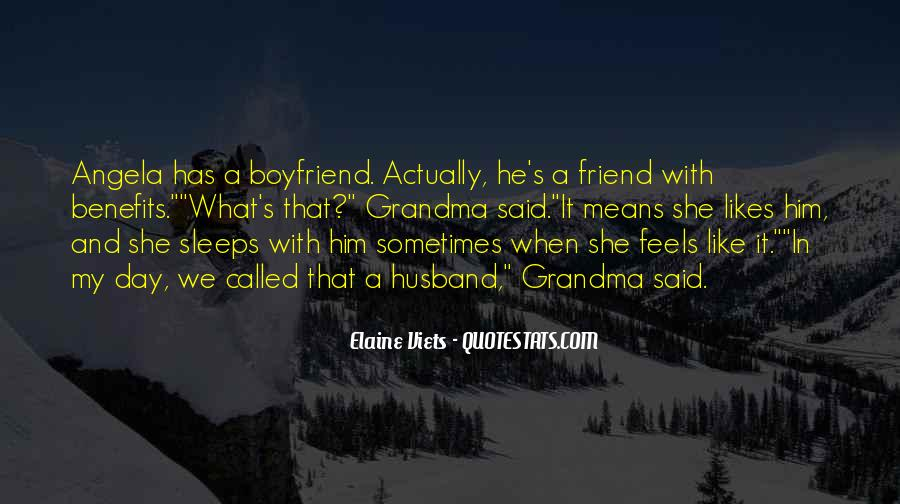My Boyfriend Is My Best Friend Quotes #778426