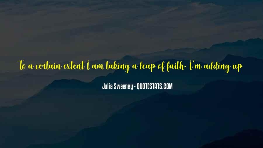 Quotes About Taking The Leap Of Faith #598126