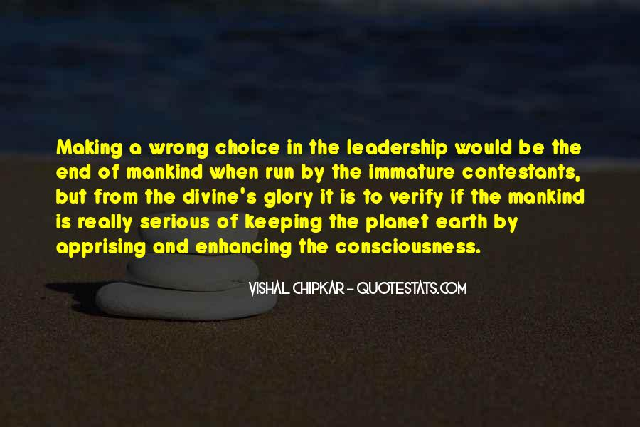 Quotes About Choice Making #302606