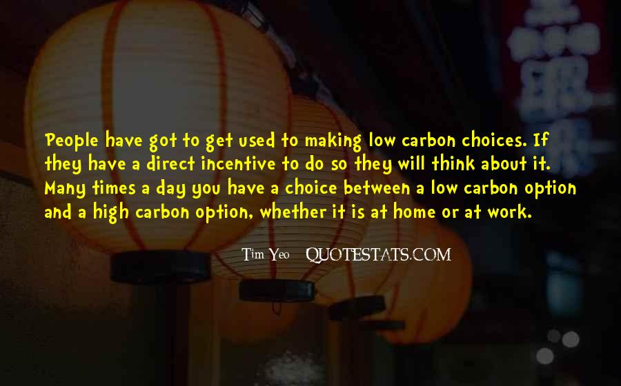 Quotes About Choice Making #560764