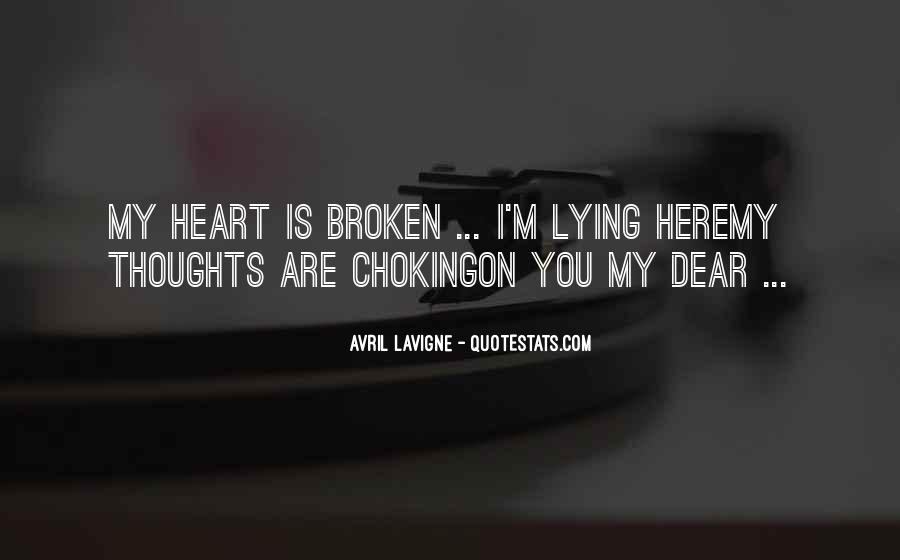 My Dear Heart Quotes #1298025
