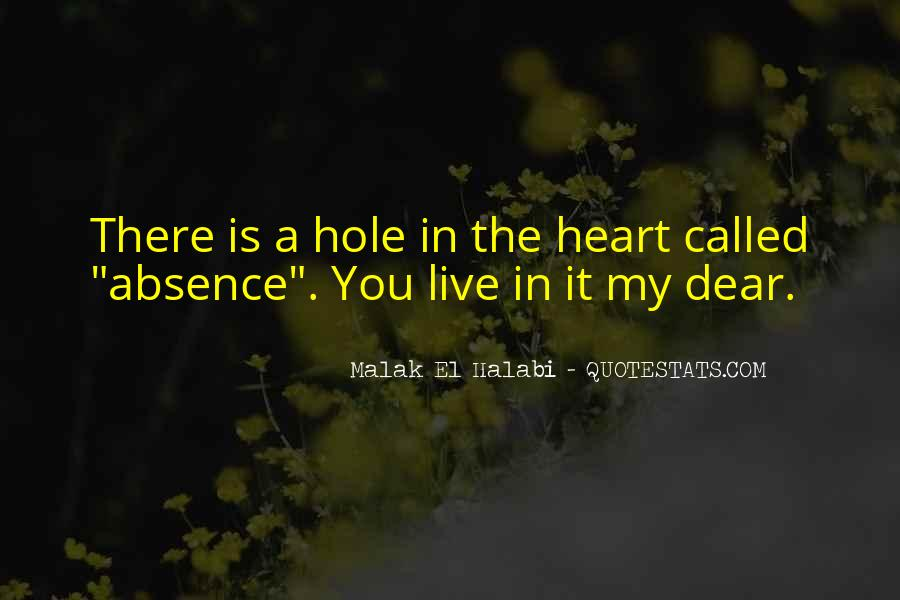 My Dear Heart Quotes #66054