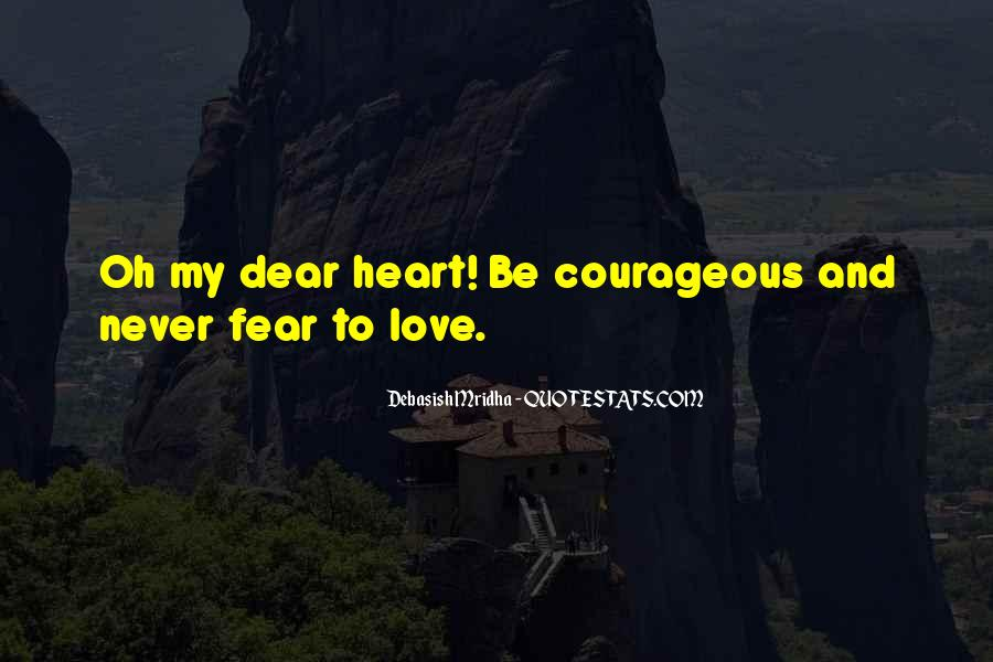 My Dear Heart Quotes #663778