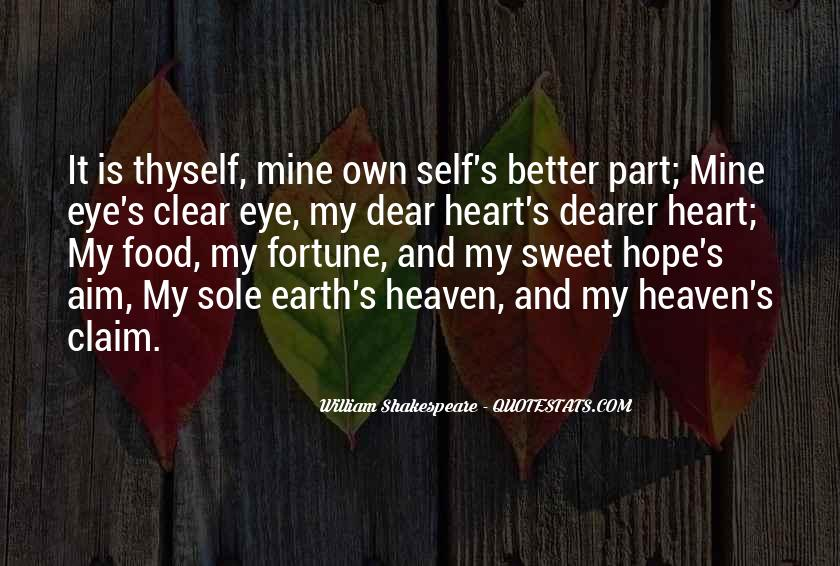 My Dear Heart Quotes #692261