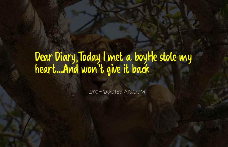My Dear Heart Quotes #78412