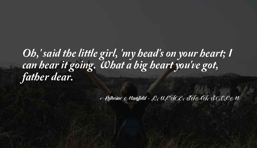 My Dear Heart Quotes #793603