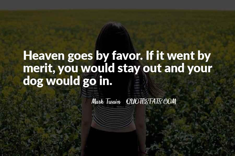 My Dog Is In Heaven Quotes #1303253