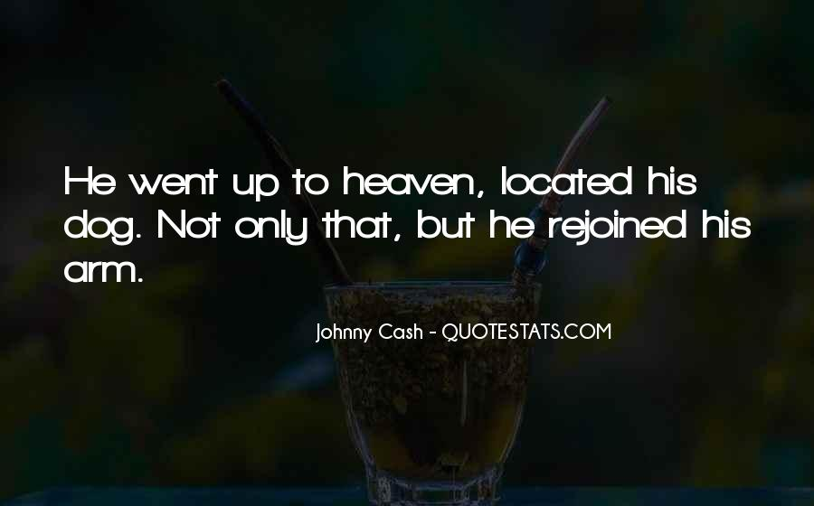 My Dog Is In Heaven Quotes #628077