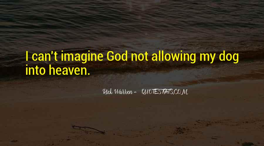 My Dog Is In Heaven Quotes #96430
