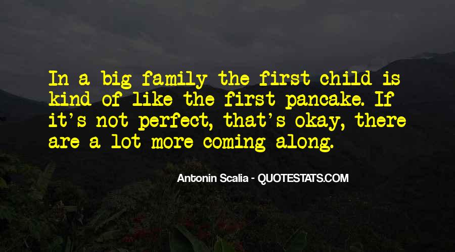 My Family May Not Be Perfect Quotes #22942