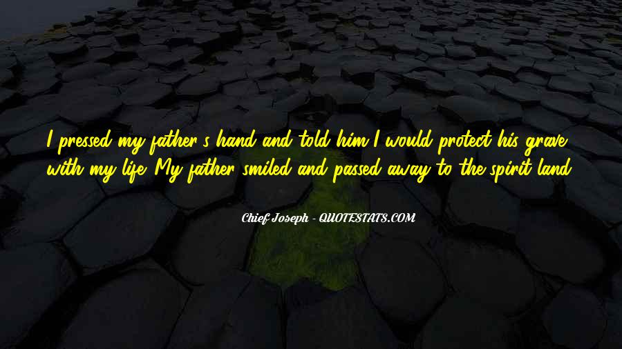 My Father Passed Away Quotes #1797310
