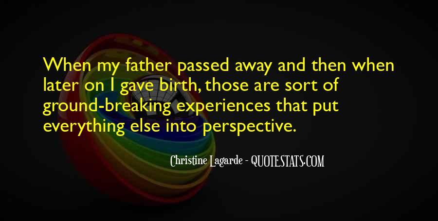 My Father Passed Away Quotes #852020