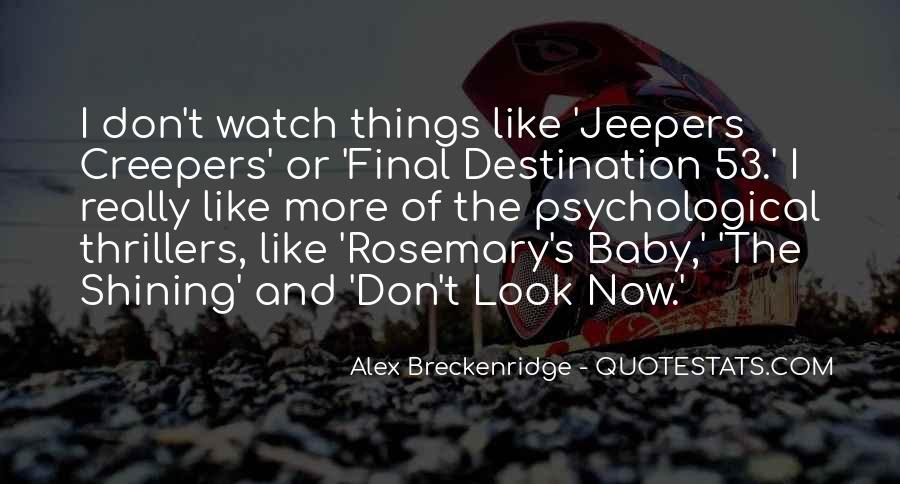 My Final Destination Quotes #1079637