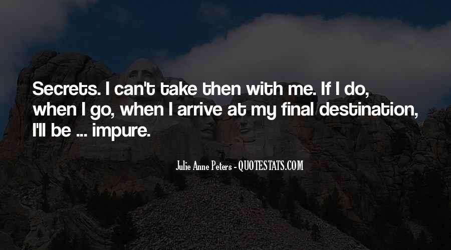 My Final Destination Quotes #1289883