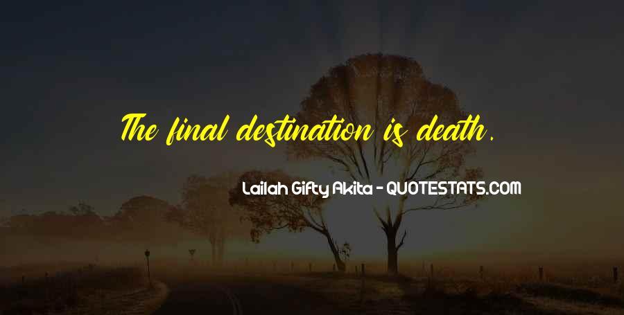 My Final Destination Quotes #145202