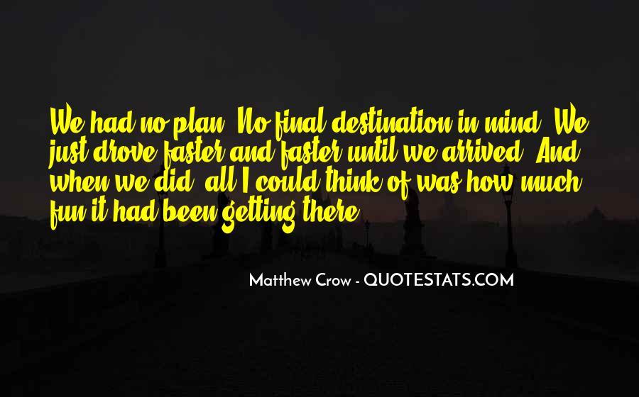 My Final Destination Quotes #362298