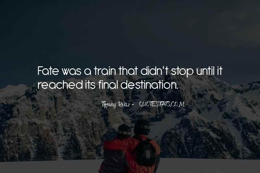 My Final Destination Quotes #367755