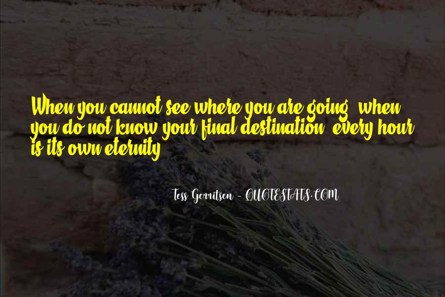 My Final Destination Quotes #644834