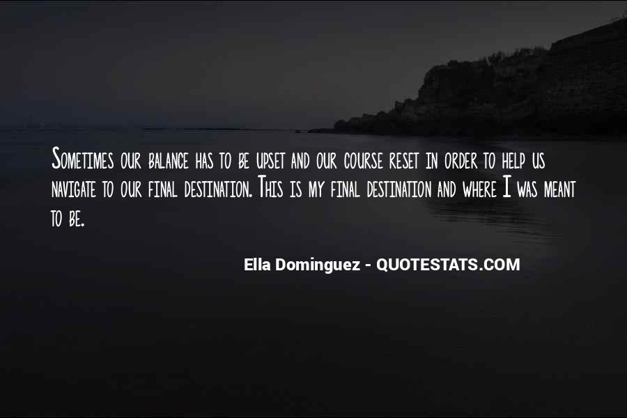 My Final Destination Quotes #743255