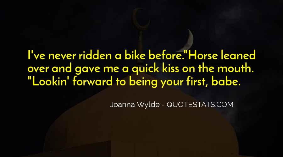 My First Horse Quotes #1301230