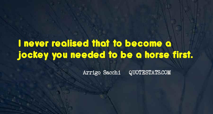 My First Horse Quotes #1541924