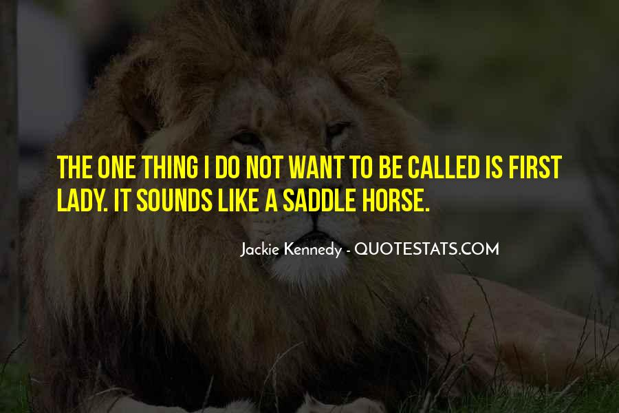 My First Horse Quotes #661404