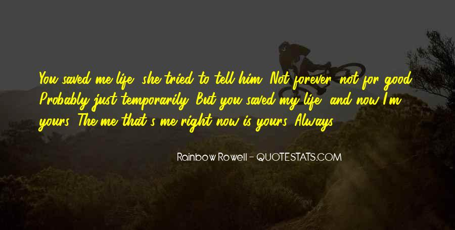 My Forever Is You Quotes #333069