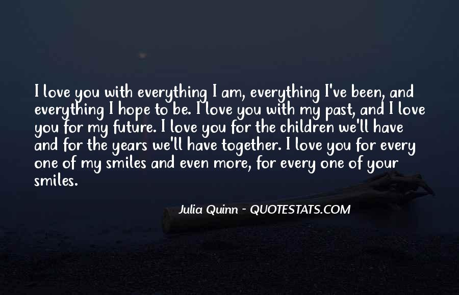 My Future With You Quotes #1670830