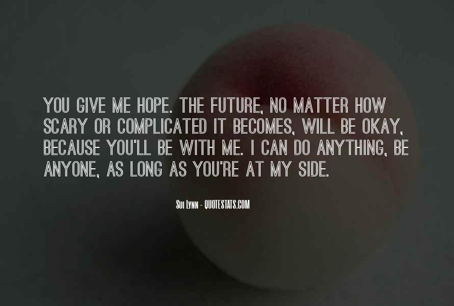 My Future With You Quotes #360270