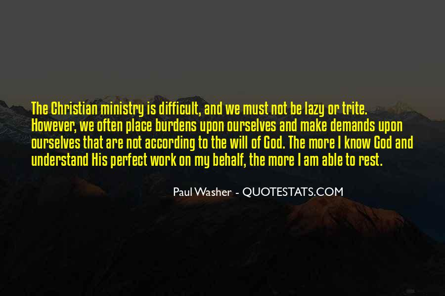 My God Is Able Quotes #1097633