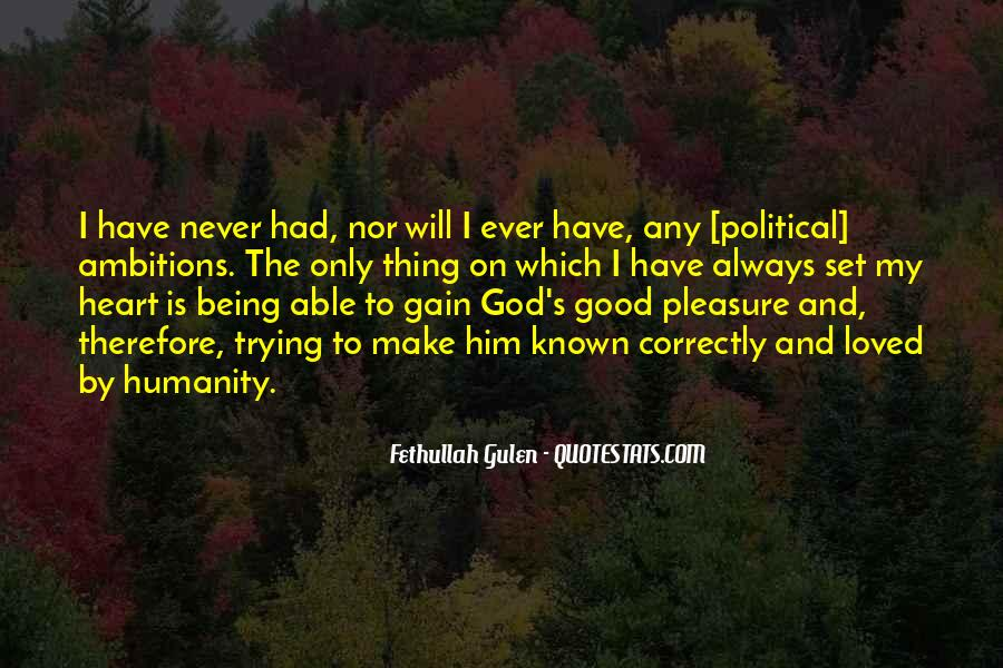 My God Is Able Quotes #1865673