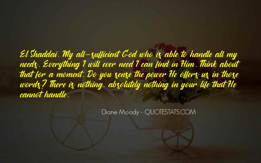 My God Is Able Quotes #236197